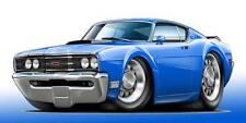 1969 Mercury Cyclone GT Classic Muscle Car Art Print NEW