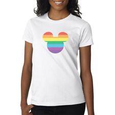 LGBT Mickey Mouse  - T-Shirt Mens/Womens Tee - Rainbow Pride Cute Disney