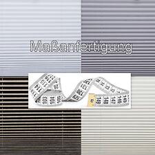 massanfertigung Thermo plissée sur mesure jusqu'à 230 cm de longueur blanc taupe