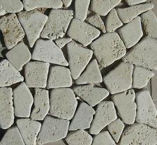 Rosoni rosone mosaici PALLADIANA IN MARMO travertino  sfusa in sacchi da 1mq