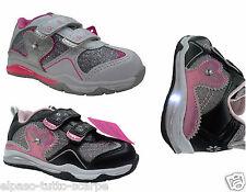 Scarpette Bambina con luci. Sportive, sneakers a strappo. GIARDINO D' ORO, S5509