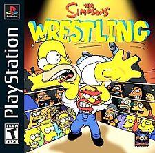 Simpsons Wrestling (Sony PlayStation 1, 2001)