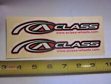 "2  7"" ALEX A-CLASS RIM BIKE BICYCLE FRAME STICKER DECAL"