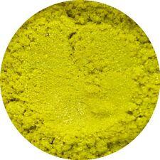 Lemon Sherbet Yellow Cosmetic Mica Powder Pure Soap Bath Bomb Colour Pigment
