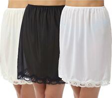 Camille Ivory Half Slip Petticoat Underskirt Size 18-20 Length 26ins  Lace Hem