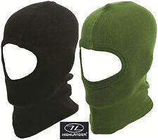 Highlander Thermal Open Face Balaclava Hat Winter Mask Motorbike Under Helmet