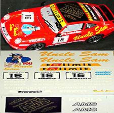 Porsche 911 Cup tolimit Avus Berlin #16 1:18 Decal Abziehbild