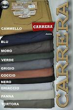CARRERA Jeans PANTALONE FUSTAGNA 5 TASCHE Mis. 46 48 50 52 54 56 58 60 62