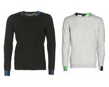 DIESEL K-TRU Men Casual Slim Fit Pullover Long Sleeve Tee Sweater Shirt