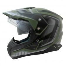 MT Helmets Synchrony DS Adventure Motorcycle Helmet - Tourer Matt Green / Black