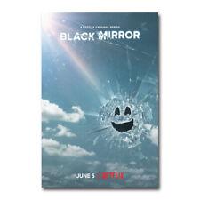 Black Mirror Poster TV Series Season 5 Art Silk Canvas Poster Print 24x36 inch