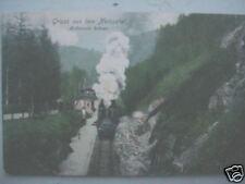 4591 AK Neissetal Bahnhof Rohnau Lokomotive 1907 Zittau