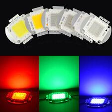 50W 100W High Power SMD LED Chip Lamp COB Bulb Bead Light DIY RGB white warm