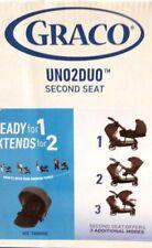 GRACO UNO2DUO SECOND STROLLER SEAT - ACE, ELLINGTON, HAZEL - $99.99 RETAIL NEW