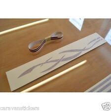 AVONDALE Dart/Mayfair/Arrow Twin Roof Stripe & Filligree Sticker DecalS - SET OF