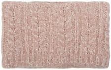 Damen breites Multifunktion Strick Stirnband Zopfmuster, Fleece, Schal, Headband
