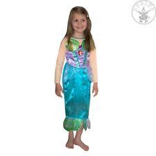 RUB Arielle Glitter Disney Kinder Kostüm Meerjungfrau Nixe Prinzessin Mermaid