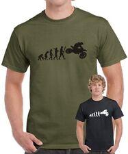Fun T-Shirt EVOLUTION MOTOCROSS biker Trialer Motorrad Cross trial bike I love