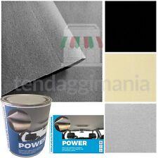 Kit rivestimento tessuto cielo tetto auto colore nero beige grigio + colla POWER
