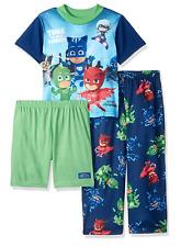 PJ Masks Boys Catboy, Gekko, Owlette 3 Piece Pajama Set