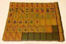 Amber Resin 2-Tone Tiles -Chinese Bakelite -Replace/Joker MahJong 30x23x16 mm