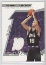 2002-03 Topps Ten Team Leader #TL-PS Peja Stojakovic Sacramento Kings Card