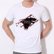 Game of Thrones Winter is Coming T-shirt - Direwolves Stark Targaryen - FREE P&P