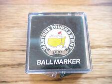 2007 MASTERS GOLF BALL MARKER AUGUSTA NATIONAL ZACK JOHNSON PGA NEW