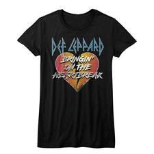 Def Leppard English Rock Band Heavy Metal Hard Rock CONCERT JUNIORS T-SHIRT 3