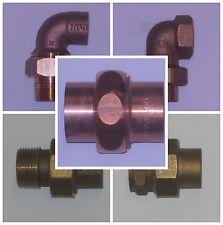 Verschraubungen 12-35mm, i-Gew., A-Gew., Rotguss, Kupfer  Fitting, Lötfitting