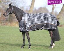 QHP Outdoordecke, Turnoutdecke, Winterdecke LUXURY Royal Black, Half Neck