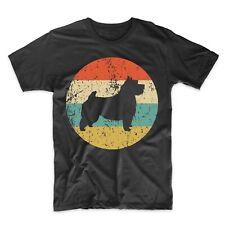 Norwich Terrier Shirt - Retro Norwich Terrier Men's T-Shirt - Dog Icon Shirt