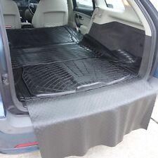 3pc boot liner load mat bumper protector Saab 9-3 Sportwagon estate thick rubber