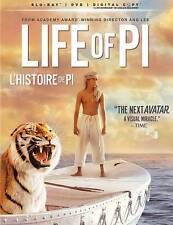 LIFE OF PI BLU RAY Movie- Brand New & Sealed-Fast Shipping! HMV-069