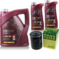 Ölwechsel Set 7L MANNOL Energy Combi LL 5W-30 + MANN Ölfilter Service 10149051