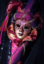 Wandsticker aufkleber deko : Maske Venedig - ref 1683 (16 größe)