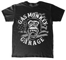 Gas Monkey Garage Fast N´ Loud  T-Shirt American Monkey Black/Schwarz