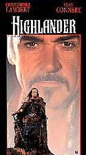 HIGHLANDER (VHS 1993) Sean Connery, Christopher Lambert
