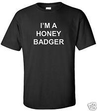 I'm a Honey Badger T-Shirt College Sports Frat Funny Shirt