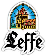 Leffe Logo Sticker Car Bumper Decal - 3'', 5'' or 6''