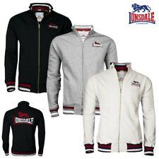 Lonsdale Herren Zip Sweater Dover Herren Strickjacke Stehkragen Boxing S bis 3XL