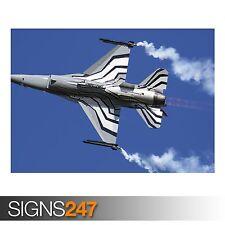 GENERAL DYNAMICS F 16 (4008) Photo Picture Poster Print Art A0 A1 A2 A3 A4