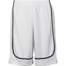 K1x Hardwood-League Uniform PANTALONCINI BASKET-BIANCO/NERO