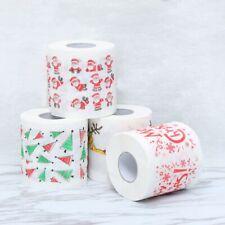 Home Bath Living Room Toilet Paper Tissue Roll Xmas Deer Christmas Supplies