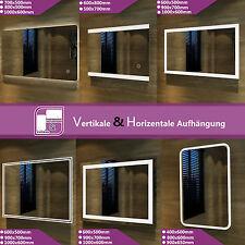 Badspiegel Badezimmerspiegel LED Beleuchtung Spiegel Wandspiegel warmweiß IP44