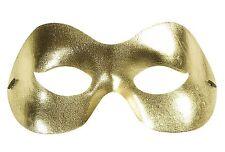 Mascherina Oro, Argento Capodanno Accessorio Costume Carnevale *19506