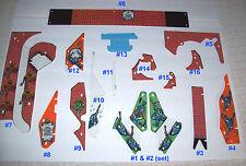 Williams BIG GUNS 1987 Original NOS Pinball Machine Plastics Use Pull Down Menu
