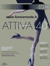 5 Collant donna Omsa 40 denari riposanti a compressione graduata art Attiva 40