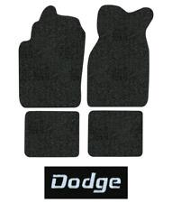 1982 Dodge Omni Floor Mats - 4pc - Cutpile | Fits: Charger