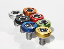 Kurbelschrauben, Set mit M8, Alukappe in rot, gold, blau, grün, schwarz, silber